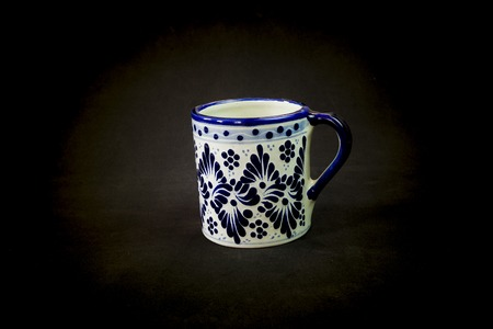 A very gracious Talavera cup for a very traditional morning coffee
