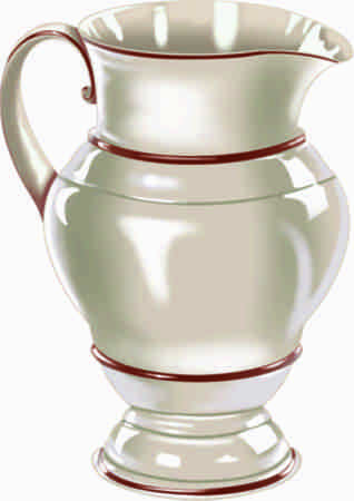 Jug Illustration isolated on white