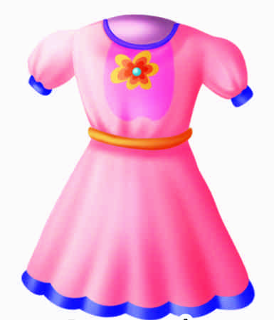 Frock Clipart Stock Photo