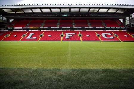 premiership: Anfield Stadium, Liverpool, England Editorial