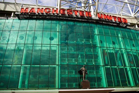 Old Trafford stadium, Manchester, England Stock Photo - 7840166