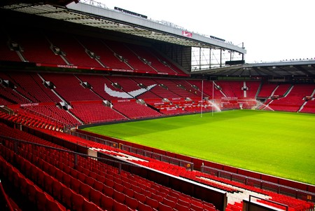 Old Trafford stadium, Manchester, England