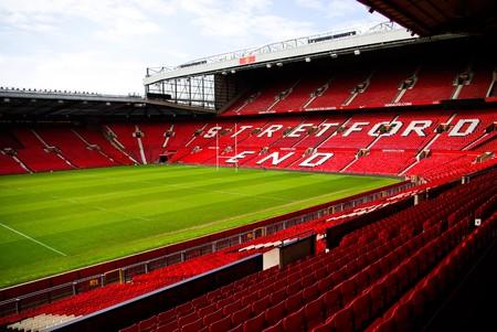 Old Trafford stadium, Manchester, England Editorial