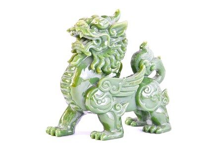 head protection: Jade Chinese Sacred Animal (call in chinese is PE-SIA)