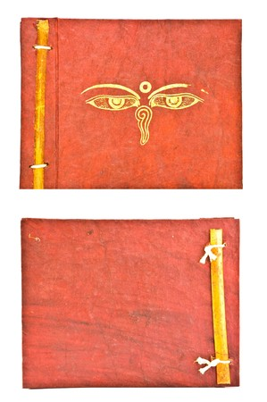 Nepal Mulberry paper notebook photo