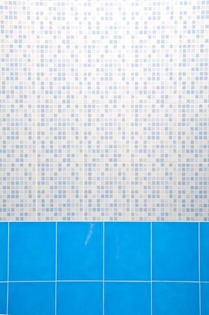 Light Blue Ceramic Wall photo