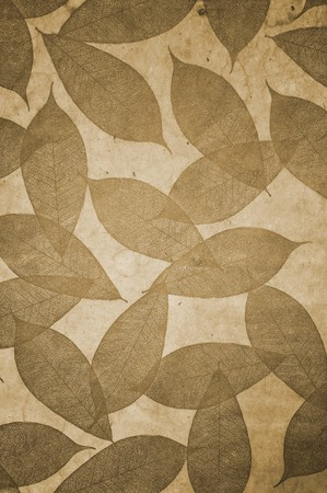 wall pattern: Leaves Pattern wallpaper