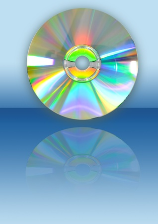 CD with reflection Stock Photo - 8447293