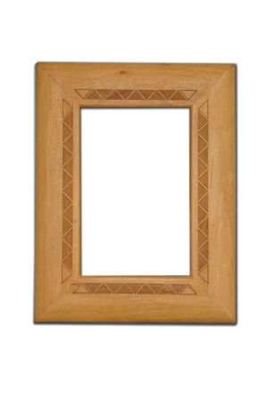 Wooden Picture Frame Stock Photo - 8447296