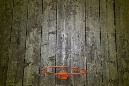 Old Basketball Hoop photo
