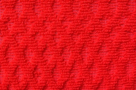 close up of pattern red wool textile texture Stock Photo - 12035815