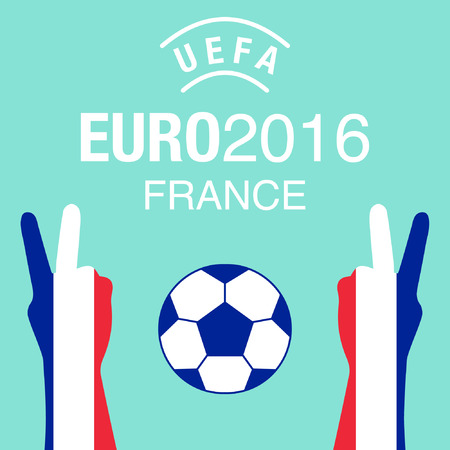 championship: Euro2016 France football championship background