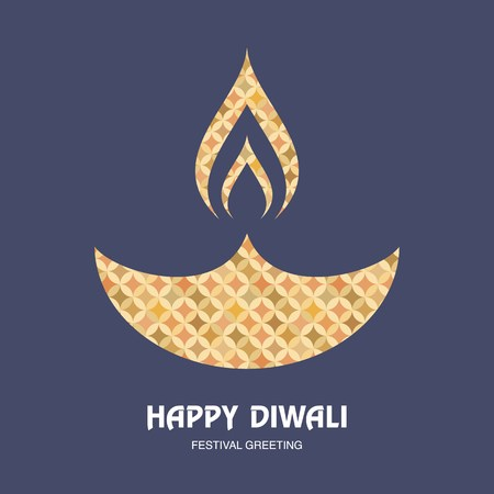 dharma: vector illustration with happy diwali greeting card background.Happy diwali festival of lights greeting card background with indian lamp.Happy diwali festival greeting background and indian lamp