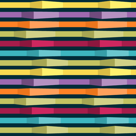 lineas horizontales: seamless pattern of multicolored horizontal lines