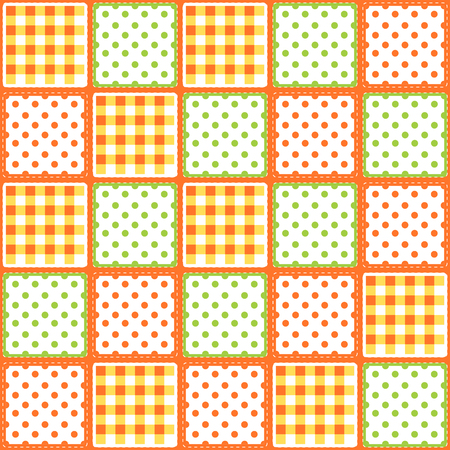 patchwork: patchwork seamless pattern Illustration