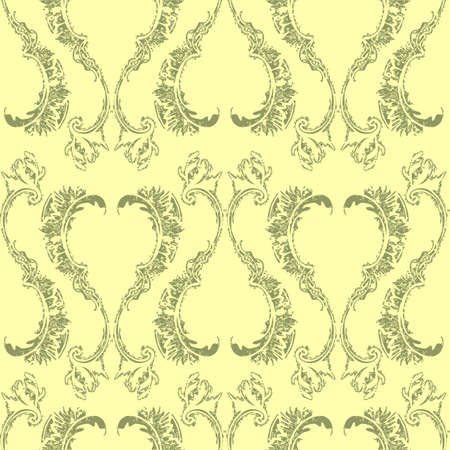 Seamless wallpaper pattern Stock Vector - 13241332