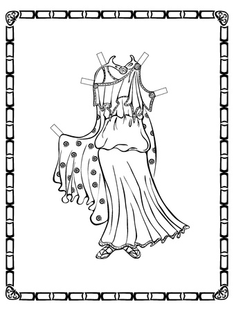 twee: Ancient Greek costume. See other vintage outfits and doll in my portfolio