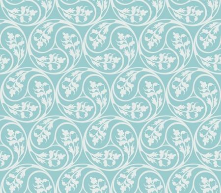 Seamless pattern decorative plants elements Stock Vector - 16605035