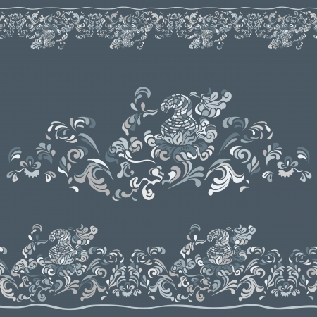 webbing: Design pattern with swirling floral decorative ornament