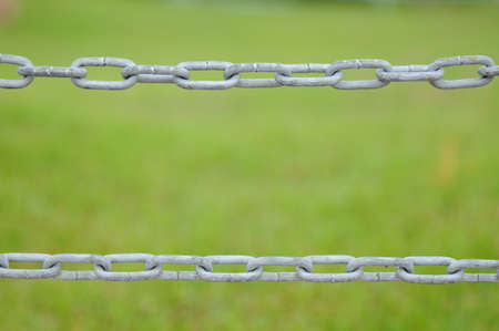 Chain fence. Stock Photo - 9572720