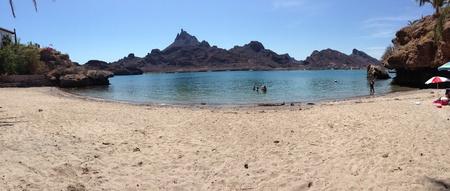 carlos: A little beach that can be found in San Carlos Mxico