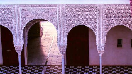 The entrance to Palace,  Morocco