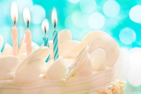 생일 케이크 촛불입니다.