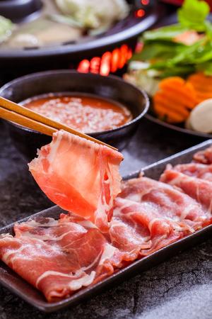 샤브샤브, 아시아 요리