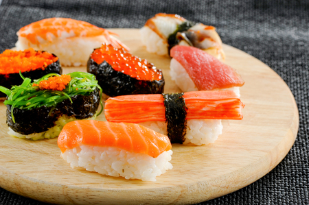 Sushi,Japanese traditional food 写真素材