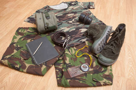 Stylish clothes for military