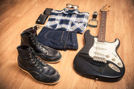 Stylish clothes for rocker
