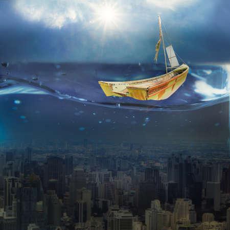 Water world,Underwater City