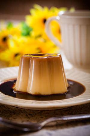 Caramel custard, dessert cuisine
