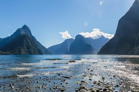 Milford Sound. Fiordland national park, South island, New Zealand