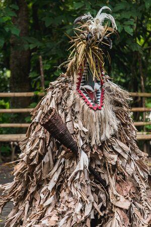 Rom custom dance in Fanla tribe, North Ambrym, Vanuatu