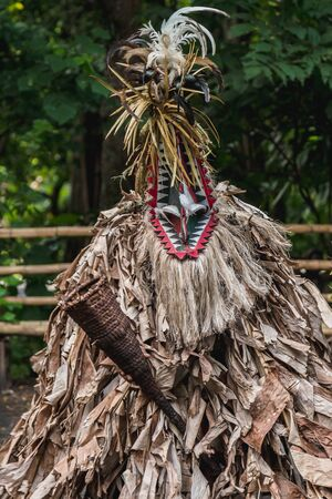Rom custom dance in Fanla tribe, North Ambrym, Vanuatu