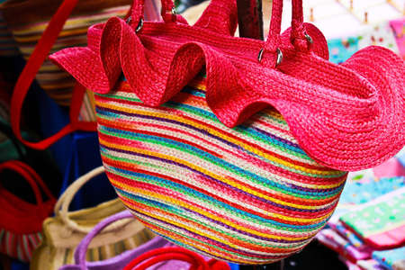 colorful beach bag Stock Photo - 12786630