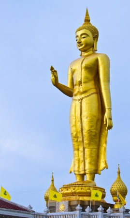 Buddha image at Hadyai,Songkhla,Thailand Stock Photo