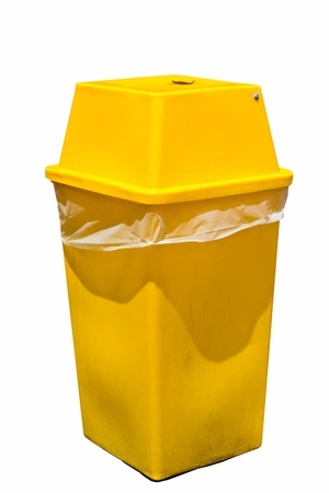 Yellow garbage Stock Photo - 15058920