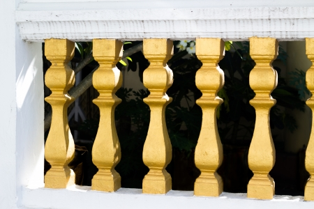 balustrade Thai style photo