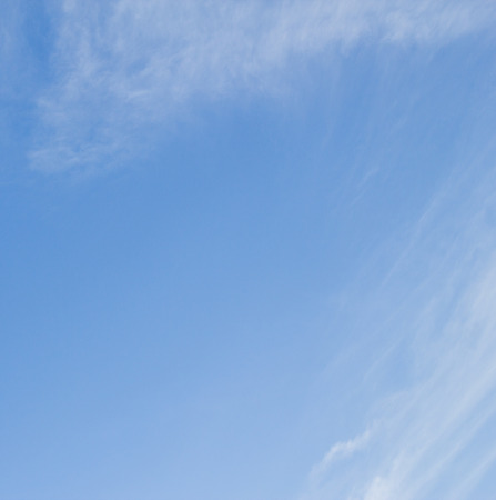 background photo of cloud and blue sky Stock Photo