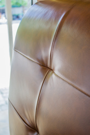 brown leather sofa: close up texture of brown leather sofa