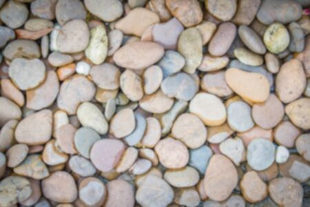 blurred background of the pebble stone for background use