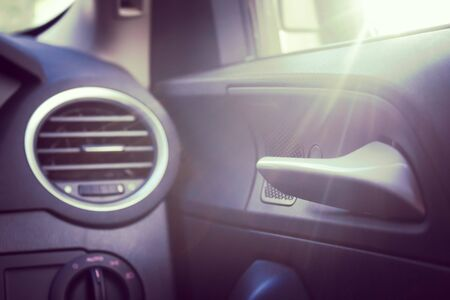 door handle: door handle inside car