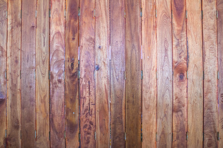 old wooden door: old wooden door in Thailand Stock Photo