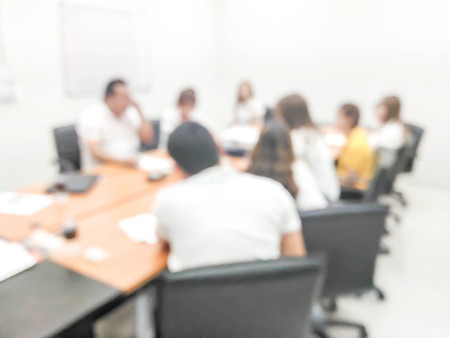 blurred people in the meeting room : for background use Stock Photo
