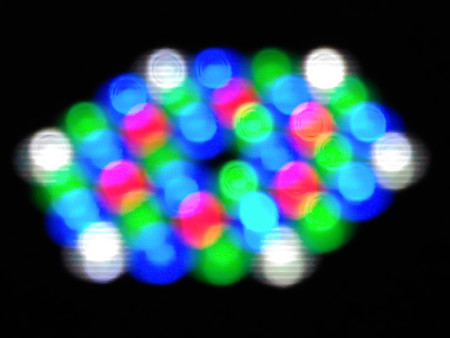 de focused: abstract de focused blur of light