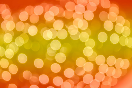 abstract blurred bokeh of night light at shopping mall Stock Photo