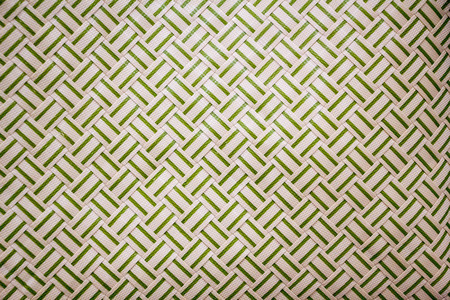 abstract woven geometry background Stock Photo