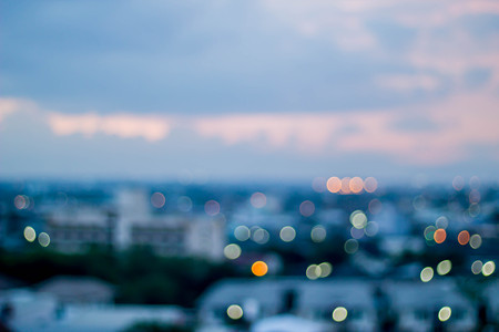 abstract color light bokeh background